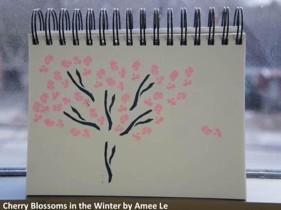 Cherry Blossoms in the Winter by Amee Le